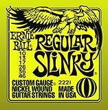Ernieball Regular Slinky(2221) アーニーボール エレキギター弦