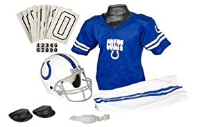 Indianapolis Colts NFL Football Deluxe Uniform Set Size Medium by Generic