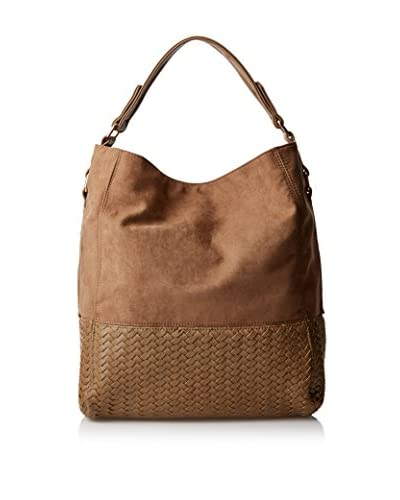 Deux Lux Women's Wooster Hobo, Taupe
