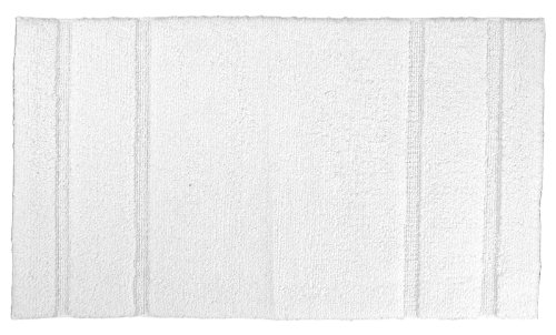 Garland Rug Majesty Cotton Washable Rug, 30-Inch By 50-Inch, White front-975073