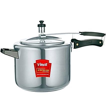 Virat Metro Aluminium 7 L Pressure Cooker (Inner Lid)