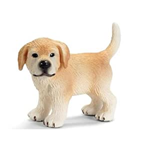 Amazon.com: Schleich Dogs: Golden Retriever Puppy, Standing: Toys