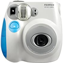 Fujifilm INSTAX MINI Film Camera (Blue Trim)