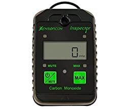 Tough, Waterproof, Made in USA: Carbon Monoxide Tester & Meter (CO Tester & Meter) - CO Inspector, Portable CO Detector Meter & Tester for Monitoring or Analyzing CO