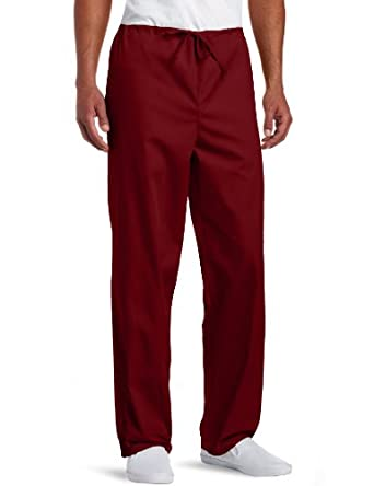 Dickies Unisex Everyday Scrubs (EDS) Drawstring Pants,Wine,X-Small