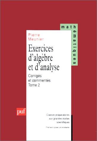 Algèbre et analyse - 1ère année ECE - D. Charlot, A ...