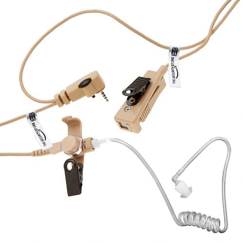 Sepura Tetra Radio Two Wire Earpiece (Genuine Otto Headset. Made In Usa) For Srp2000, Srp3000, Srh3500, Srh3800, Srh3900