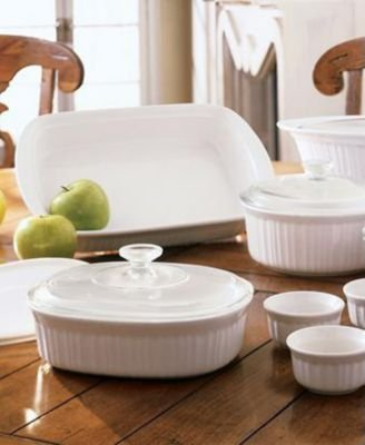 CorningWare Just for You French White 15-Piece Set - Buy CorningWare Just for You French White 15-Piece Set - Purchase CorningWare Just for You French White 15-Piece Set (CorningWare, Home & Garden, Categories, Kitchen & Dining, Cookware & Baking, Baking, Bakeware Sets)