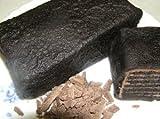 お中元 ギフト TVで紹介!これってミルクレープ?黒のパケ ブラックココアとミルクの生チョコのスイーツ アイスもお勧め チョコレートケーキおくれてごめんね父の日