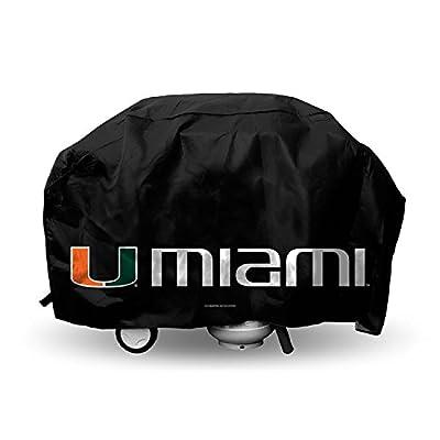 Miami Hurricanes Ncaa Economy Barbeque Grill Cover