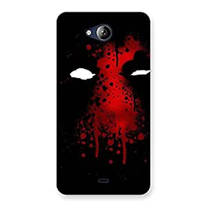 Delighted Horror Red Back Case Cover for Canvas Play Q355