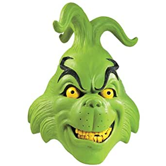 Amazon.com: The Grinch Mask Costume Accessory: Clothing