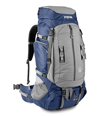 JanSport Klamath 75 Adventure Series Multi-Purpose Backpack with GridFit (Navy)