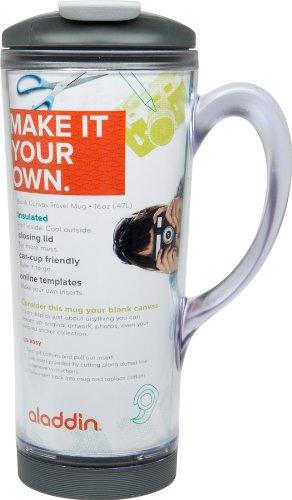 design your own mug aladdin blank canvas travel mug 16oz. Black Bedroom Furniture Sets. Home Design Ideas
