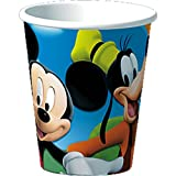 Mickey's Clubhouse 9-Ounce Cups, 8-Count Packages (Pack of 6)