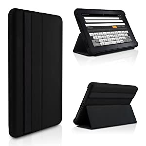 Kindle Fire Lightweight Microshell Folio Case Cover By Marware Black Does Not Fit Kindle Fire HD