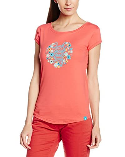 EIDER Camiseta Manga Corta Perriere 2.0 Coral