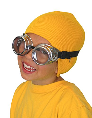 Costume Adventure Adorable Villain's Helper Hat and Goggle Costume Set