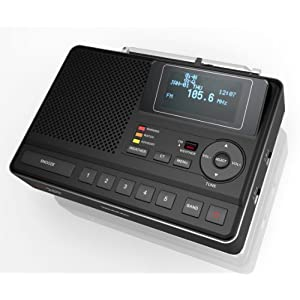 Sangean CL-100 Table Top Public Alert Certified S.A.M.E. Weather Hazard Alert Radio