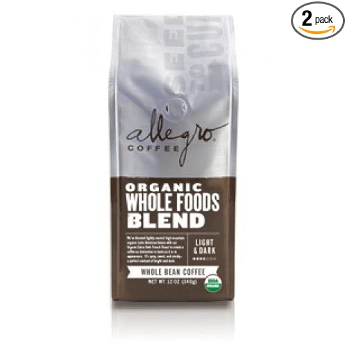 Allegro Ground Coffee, Organic Whole Foods Blend