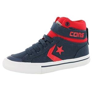Converse Boys' Chuck Taylor Pro Blaze Strap High Top Sneaker Navy 3 M US