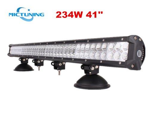 "Mictuning® 36"" 234W Cree Led Lights Bar Combo Spot/Flood Beam- 4X4 Off Road Boat Driving Headlights -Jeep Polaris Razor Atv Suv Utv Car Truck"
