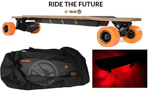 Yuneec E Go Cruiser Electric Skateboard W Travel Ba