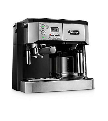 Delonghi Combi Coffee Maker Argos : DeLonghi America BCO430 Combi Coffee and Espresso Machine, Silver from DeLonghi America at the ...