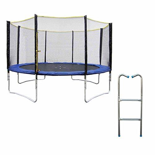 Trampoline adulte finest trampoline magnitude filet g - Petit trampoline decathlon ...