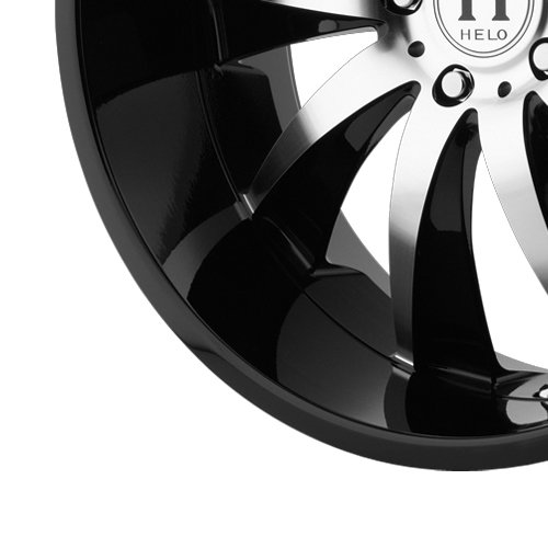 Helo HE851 Gloss Black Wheel with Machined Face (22x8.5/5x112mm) диски helo he844 chrome plated r20