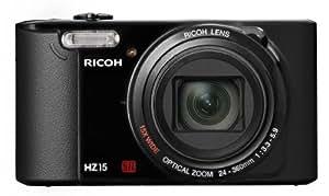 Ricoh HZ15 Appareils Photo Numériques, 16 Mpix Zoom Optique 15 x + Etui + Trépied + Carte Mémoire 8 Go