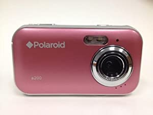 Polaroid 2MP CMOS Digital Camera with 1.44-Inch LCD Display Pink