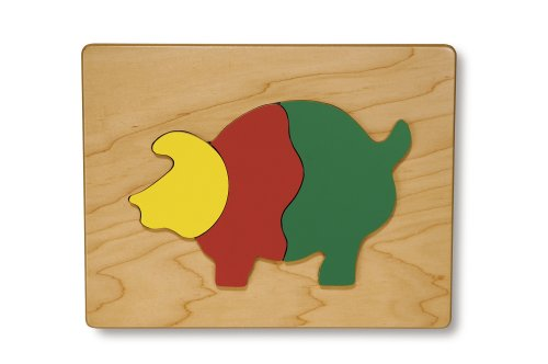 Cheap TAG Toys Pig Puzzle (3 Pieces) (B000BTI1UG)