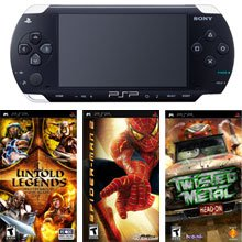 Sony PSP Silver Pack 2