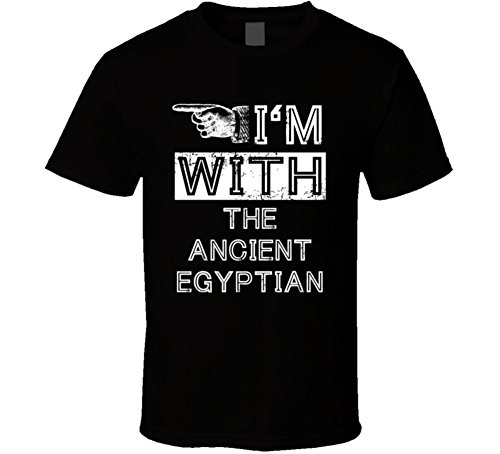 Im with Ancient Egyptian Stupid Cool Couple Costume Halloween T Shirt