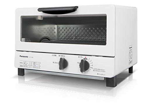 パナソニック オーブントースター ホワイト NT-T100-W