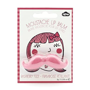 Moustache Lip Balm - Raspberry Fizz