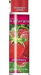 Avon strawberry lip balm set of 2