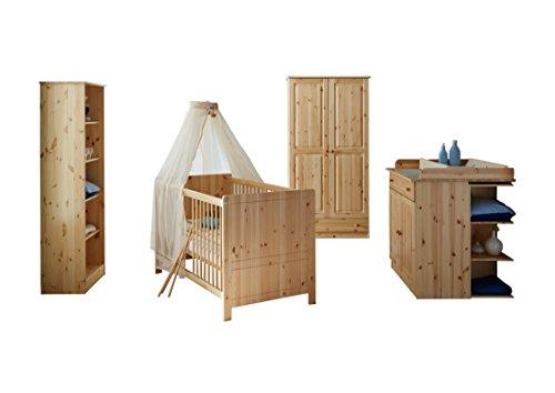 TICAA-Babyzimmer-Moritz-5-teilig-Kiefer-Natur