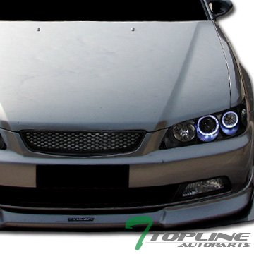 Jdm-R Blk Mesh Type Front Hood Bumper Grill Grille Abs Honda Accord 2D 2Dr (Grill Accord 99 compare prices)