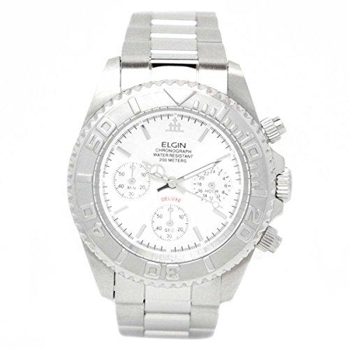 [エルジン]ELGIN 腕時計 クロノグラフ FK1120S メンズ