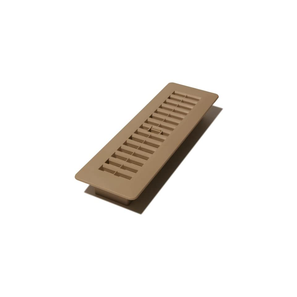 Decor Grates PL210 TA 2 Inch by 10 Inch Plastic Floor
