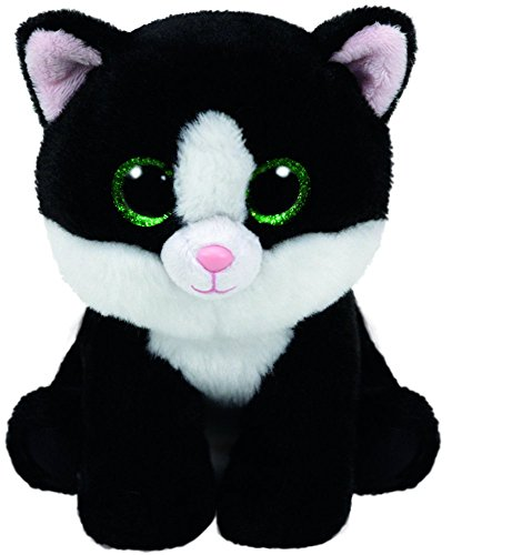 Ty Beanie Babies Ava - Black & White Cat (Big Beanie Babies compare prices)