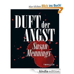"""Buchcover Susan Mennings - """"Duft der Angst"""""""