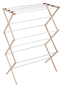 Whitney Design 05111 RTA Folding Wood Clothes Drying Rack