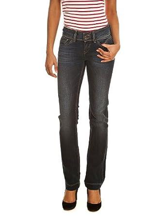 Jeans PRUZ STRAIGHT COMF USED VINTAGE/INDIGO TEDDY SMITH W34 Femme