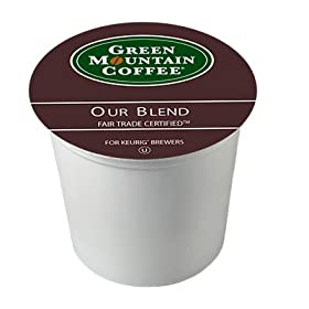 Green Mountain Fair Trade Our Blend 4 Boxes of 24 Keurig K-Cups