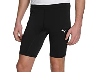 Puma Short Tight Running Cycling Shorts - Black (X-Small
