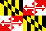 5Ft X 3Ft 5'X3' Flag Maryland America Usa State American