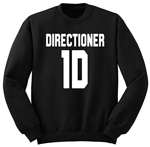 One Direction / Harry Styles / Direction / 1D / Felpa / SW22 (S, Nero)